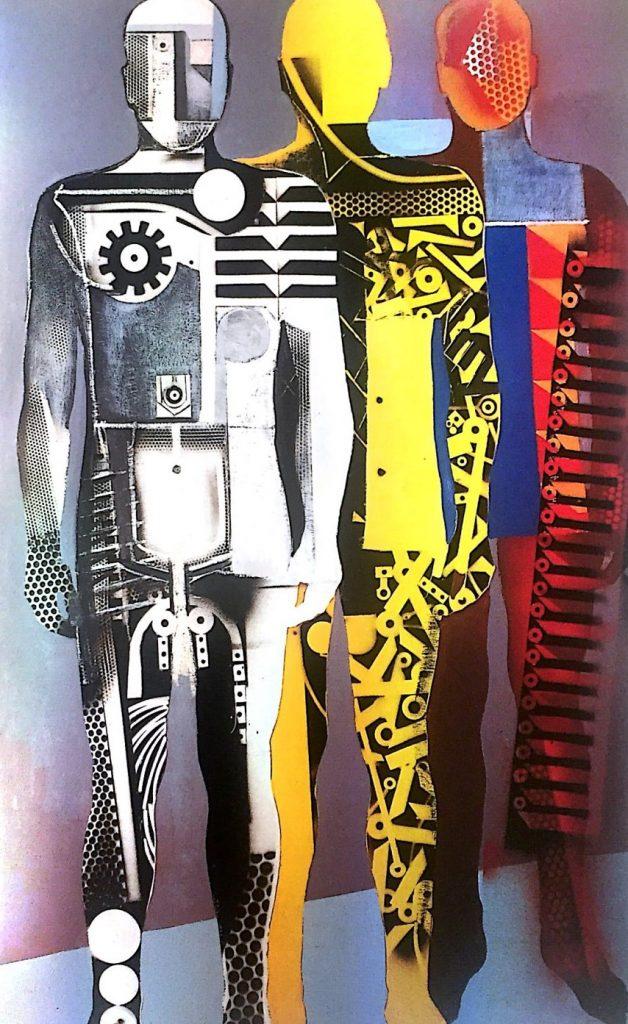 Tre figure, 1975